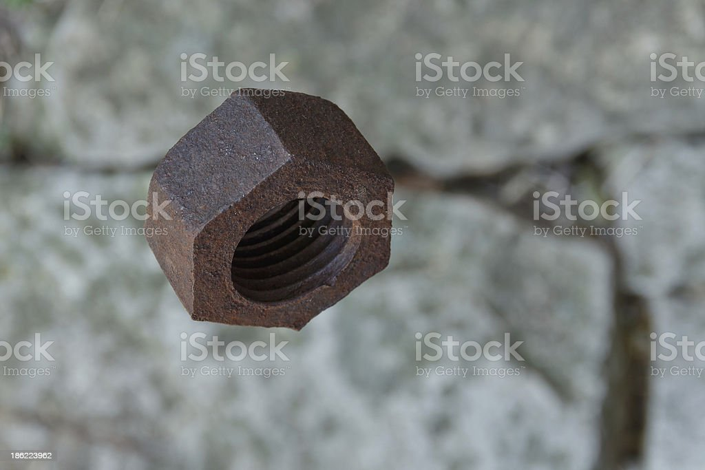 screw-nut royalty-free stock photo