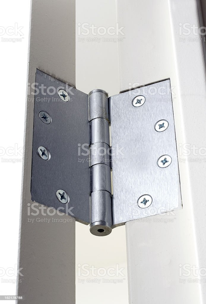 Screws and Hinges stock photo