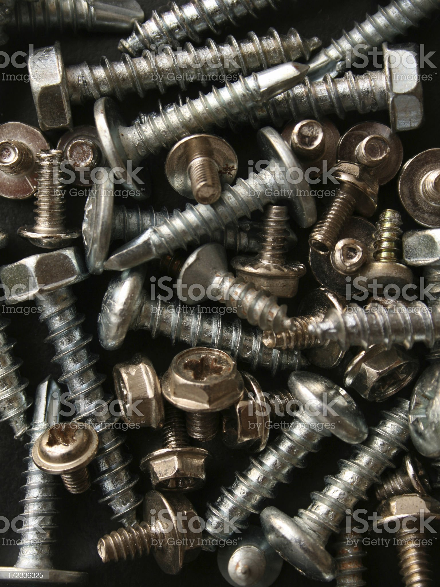 Screws background royalty-free stock photo