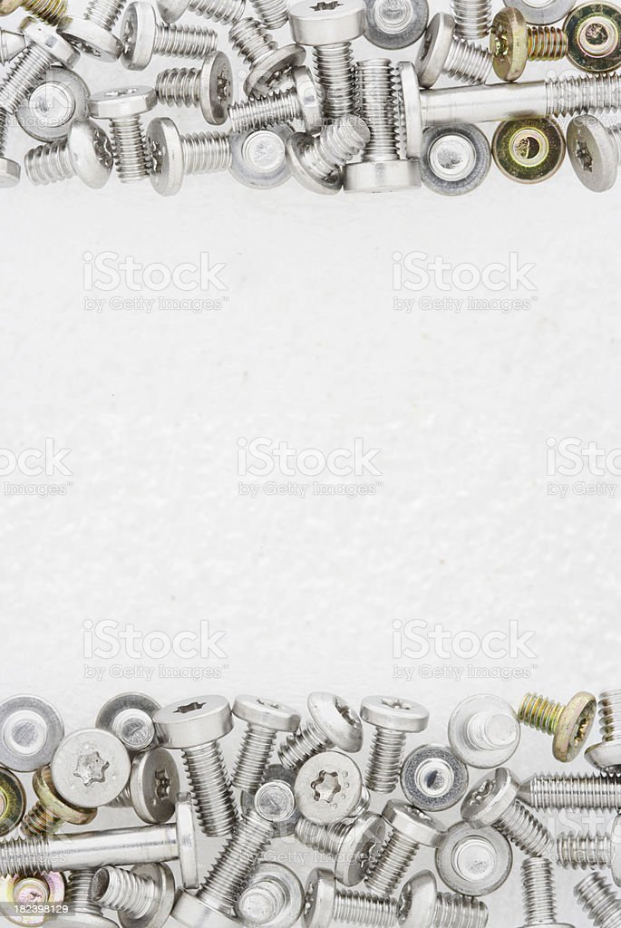 screws background royalty-free stock photo