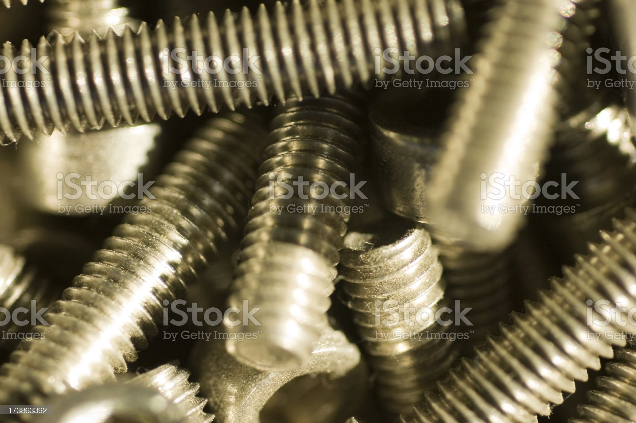 screws royalty-free stock photo