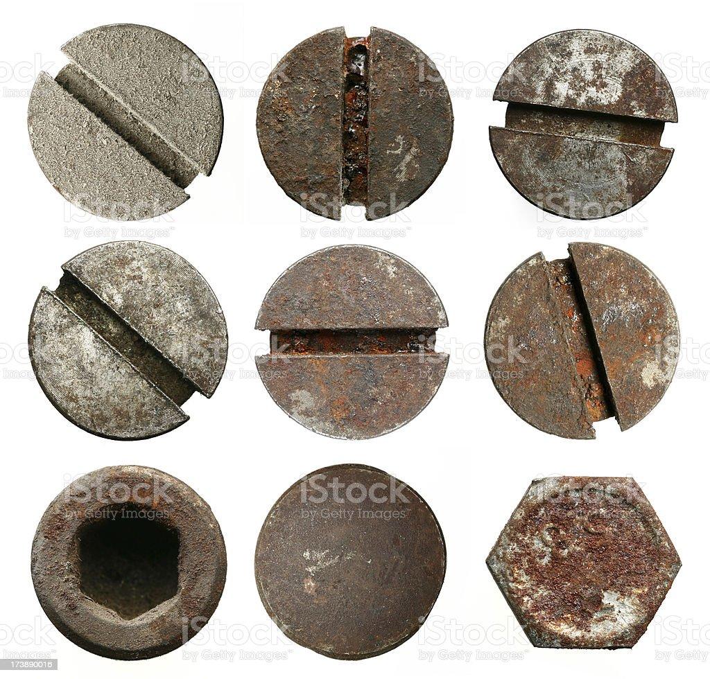 screws stock photo