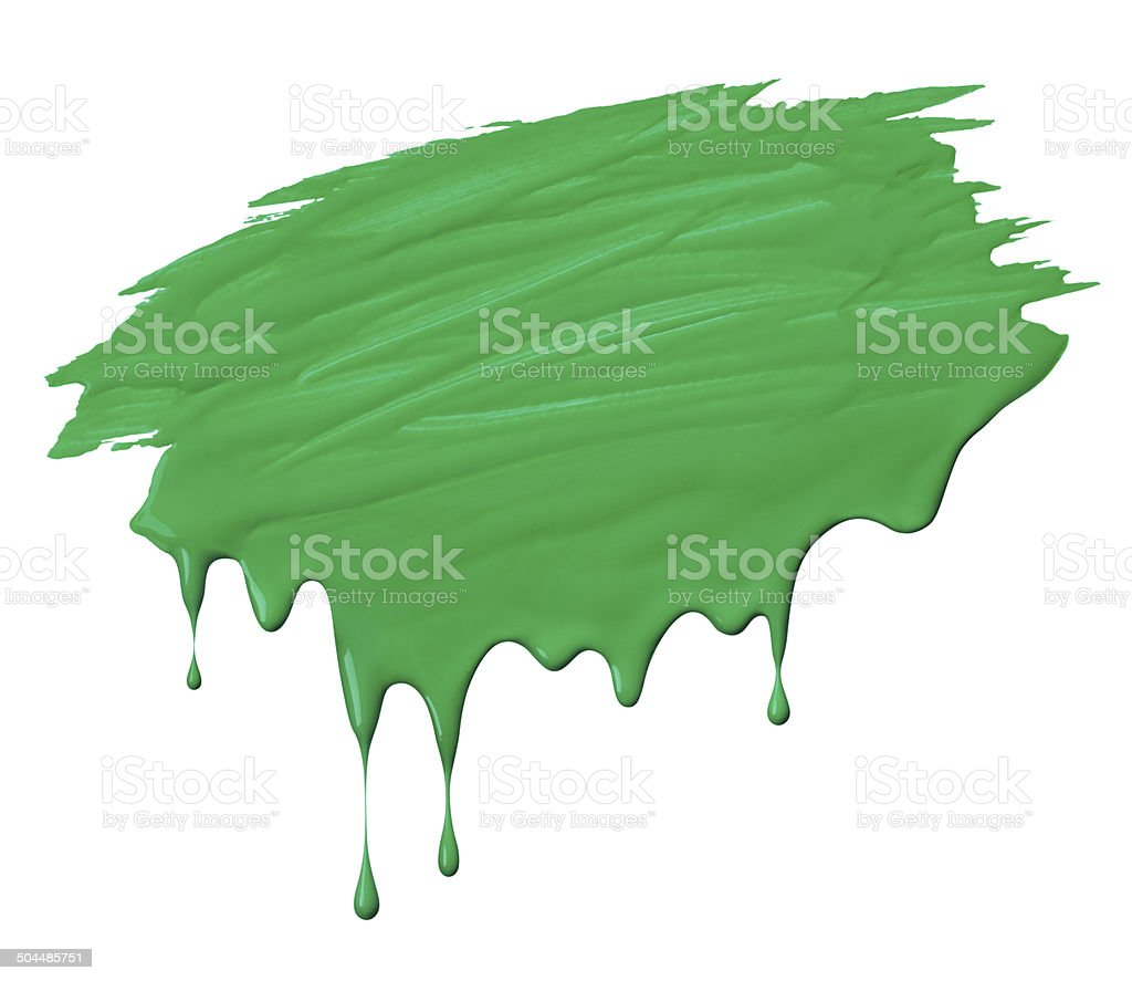 scribble with drips royalty-free stock photo
