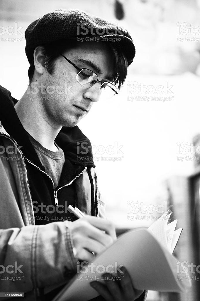 Script Supervisor royalty-free stock photo