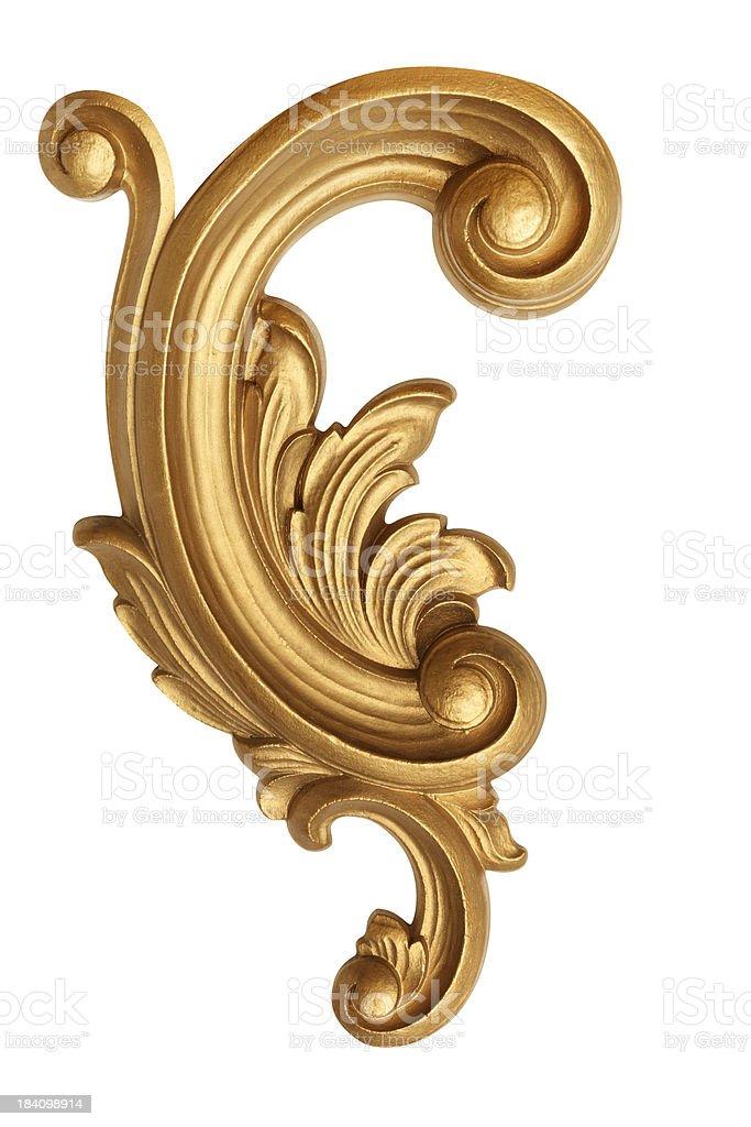 Scroll Design royalty-free stock photo