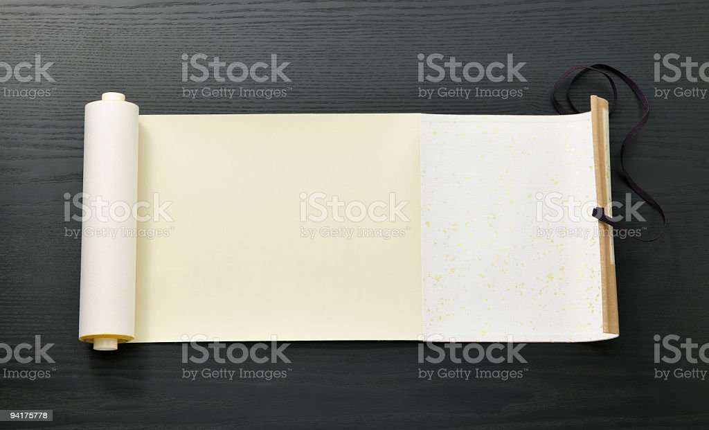 Scroll of Japan royalty-free stock photo