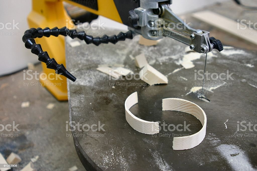 Scroll Saw royalty-free stock photo
