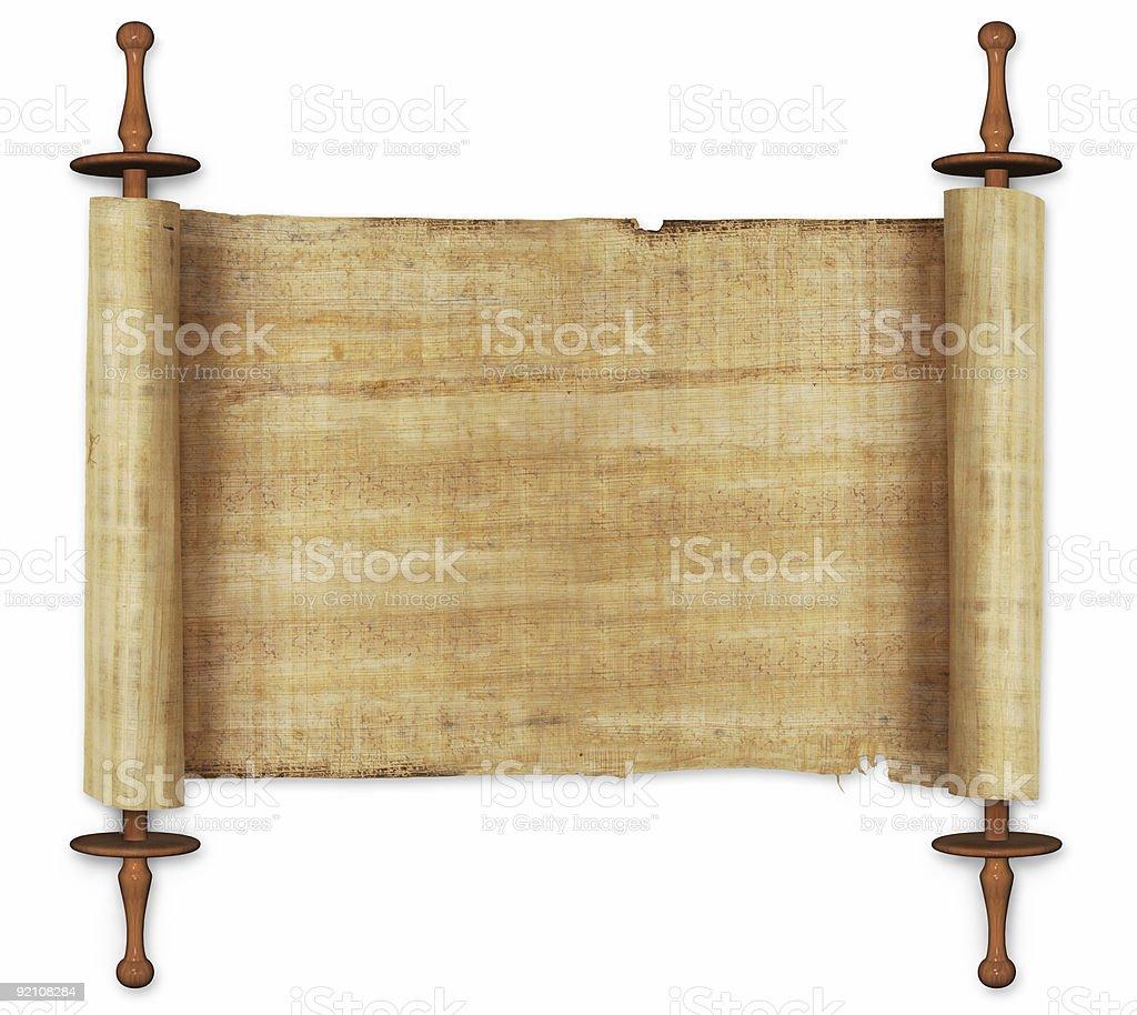 scrolls royalty-free stock photo