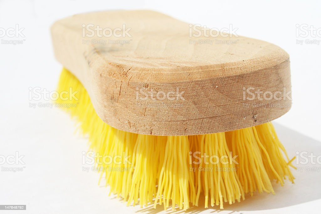 Scrub brush royalty-free stock photo