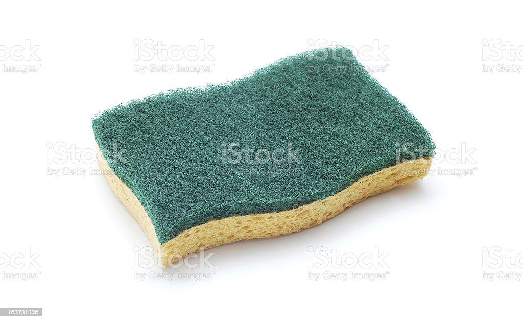 scrub sponge royalty-free stock photo