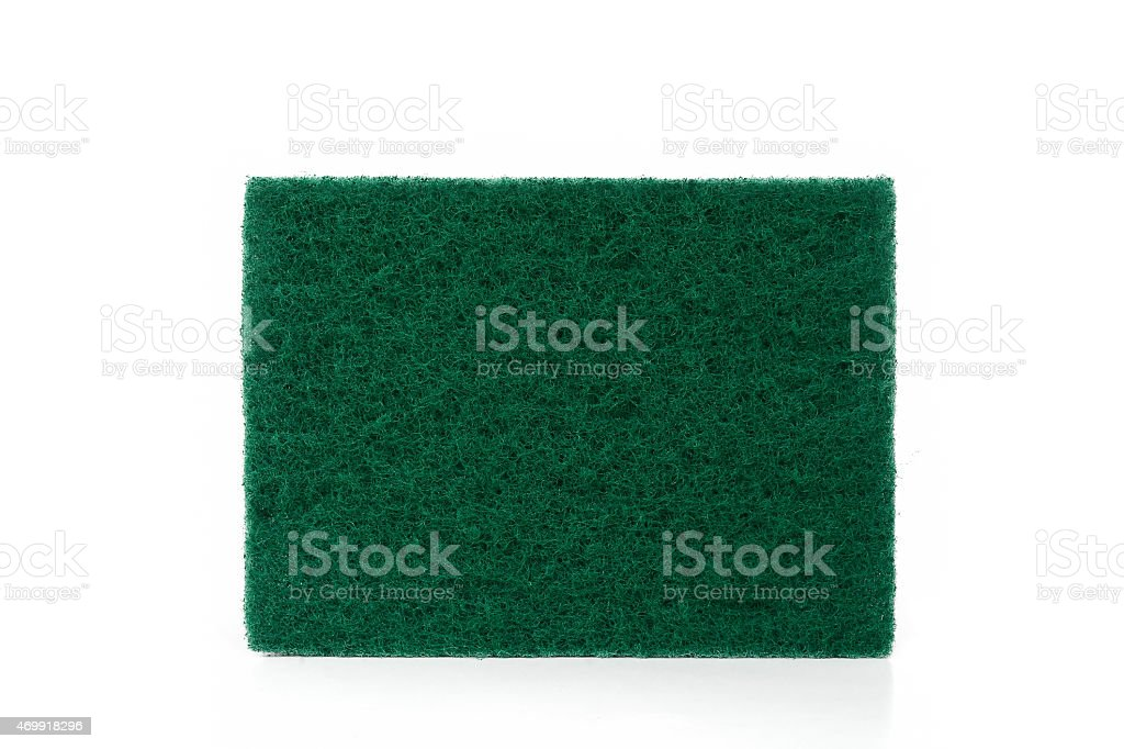 scrubber pad stock photo