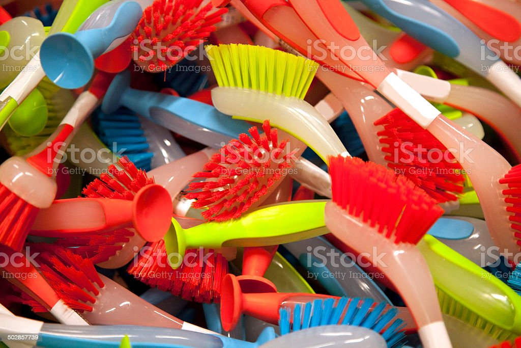Scrubbers stock photo