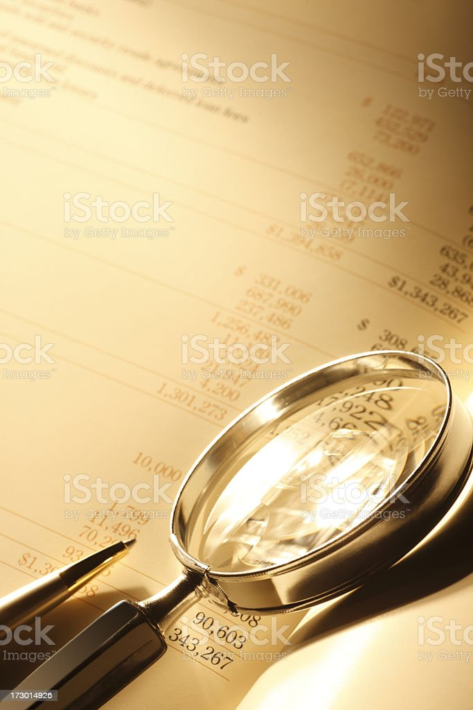 Scrutiny royalty-free stock photo