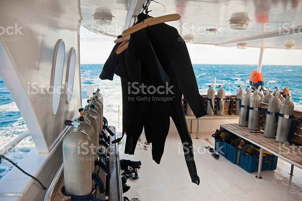 Scuba Diving Underwater Equipment stock photo
