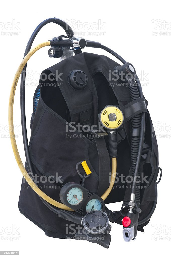 Scuba Gear stock photo