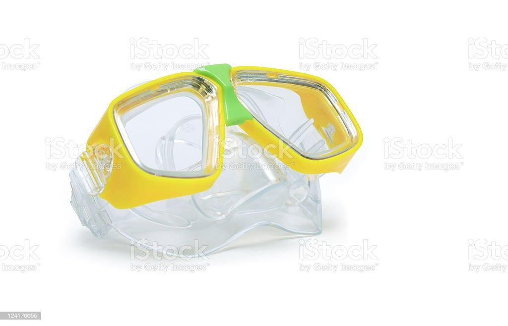 Scuba Goggles stock photo