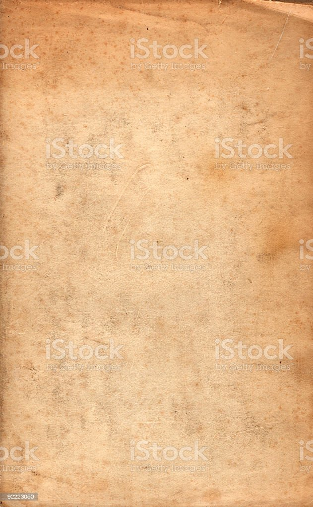 Scuffed paper background royalty-free stock photo