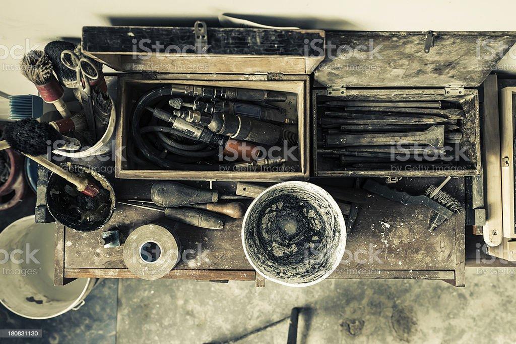 Sculpting Tools stock photo