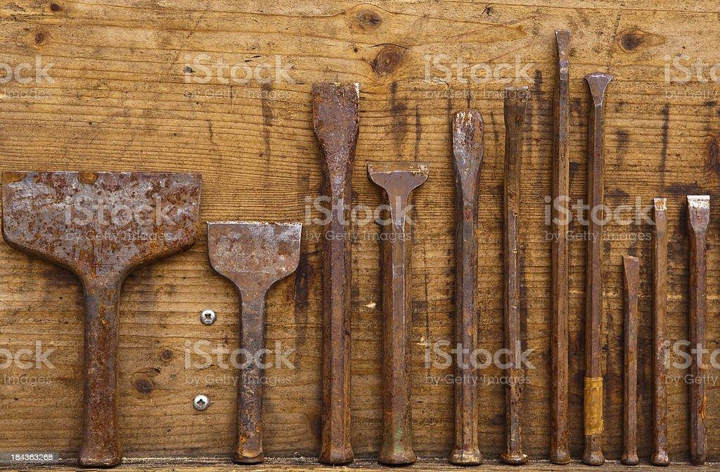 sculptor tools stock photo
