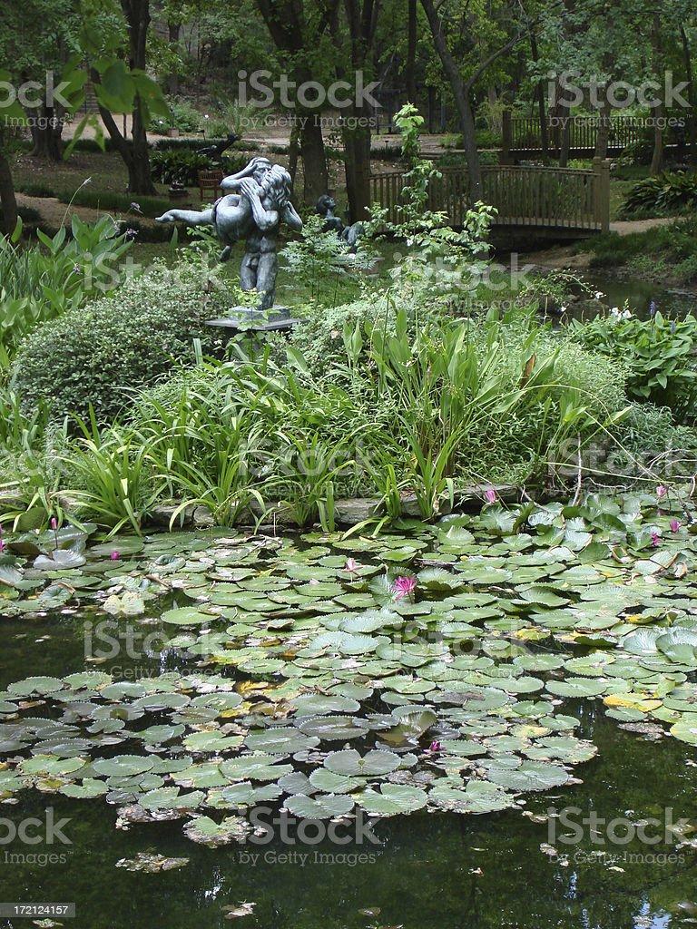 Sculpture Garden - Austin, Texas royalty-free stock photo