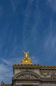 Sculpture in Paris Opera Building