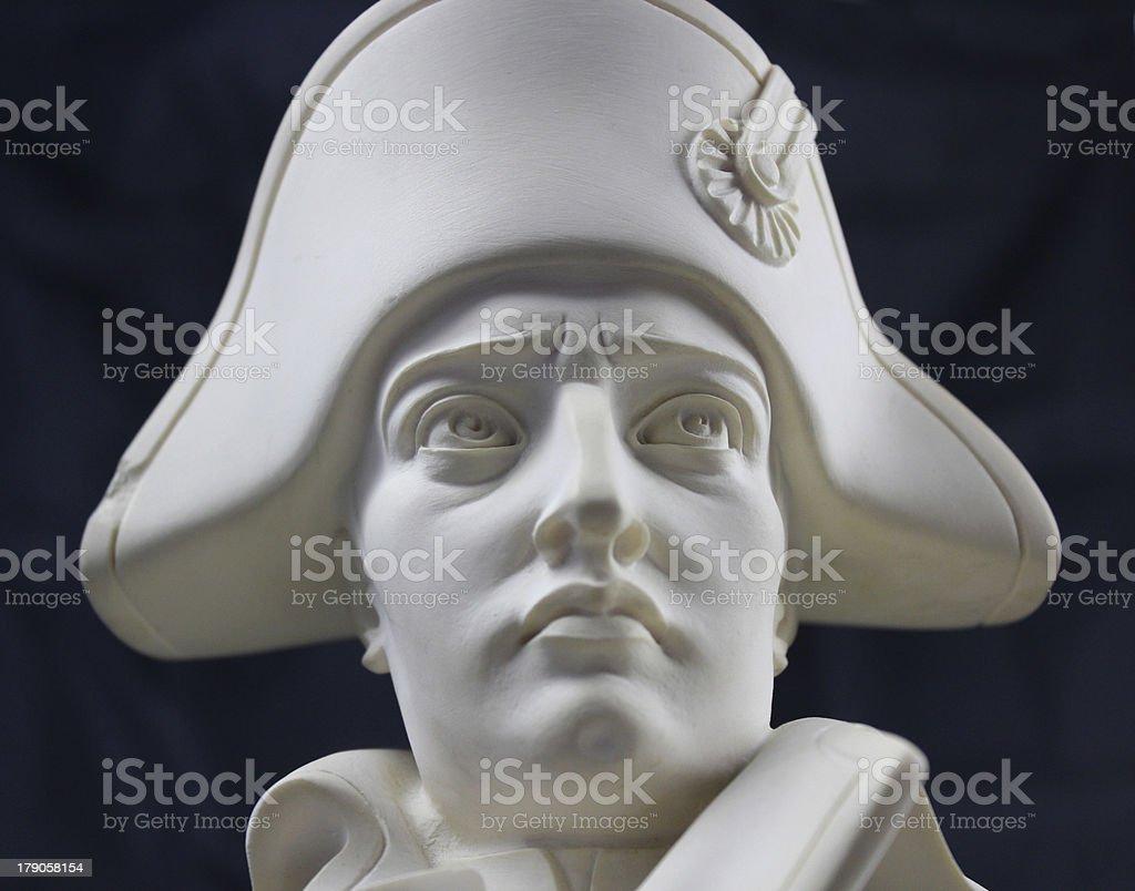 Sculpture Napol?on Bonaparte royalty-free stock photo