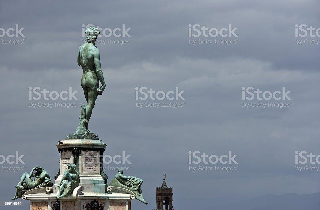 Sculpture of David royalty-free stock photo