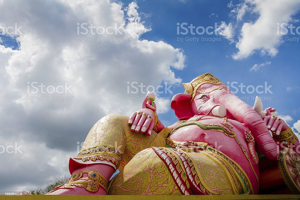 Sculpture of Ganesh royalty-free stock photo
