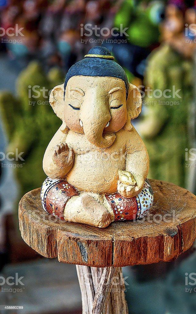 Sculpture of ganesha royalty-free stock photo