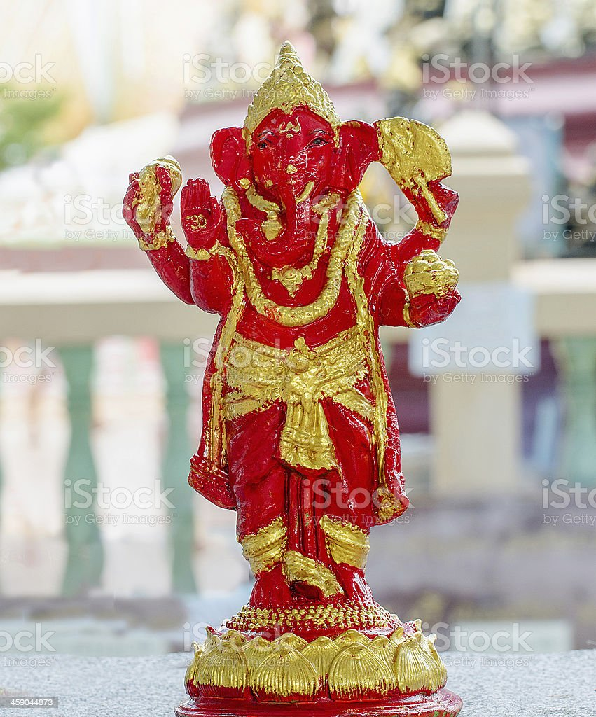 Sculpture of ganesha royalty-free stock photo
