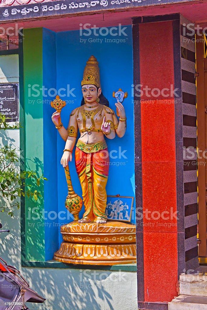 Sculpture of Jaya stock photo