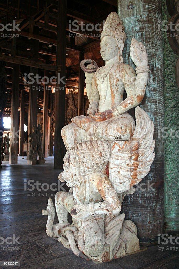 Skulptur der Gott Naraya – Foto