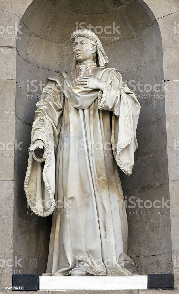 sculpture old royalty-free stock photo