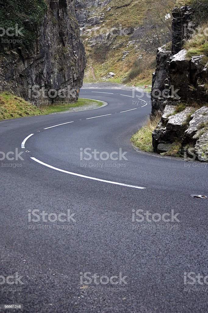S-Curves royalty-free stock photo