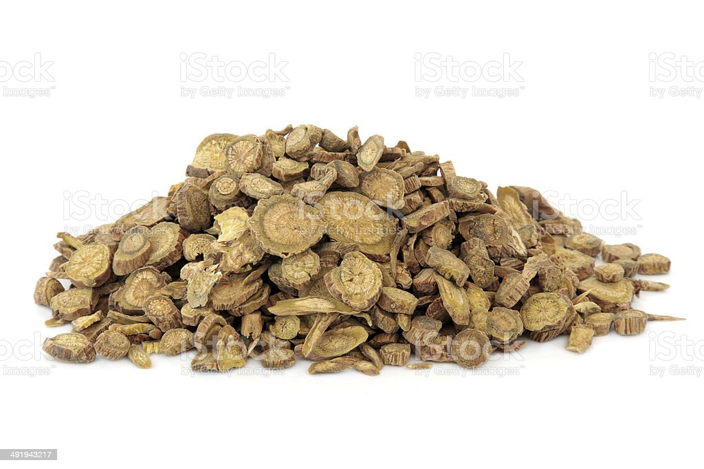 Scutellaria Root stock photo