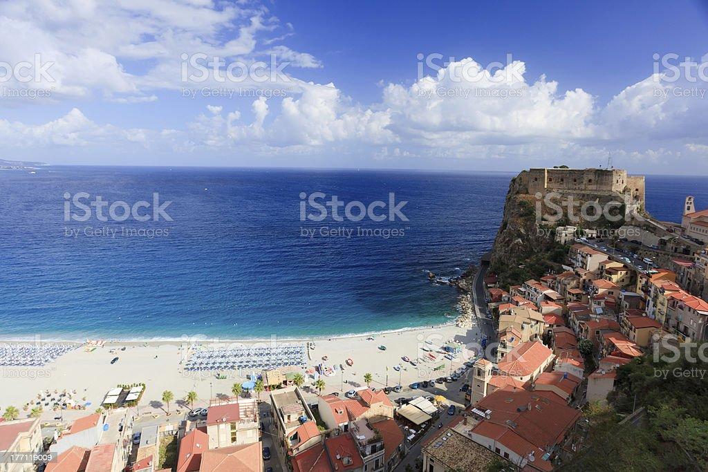 Scylla landscape stock photo