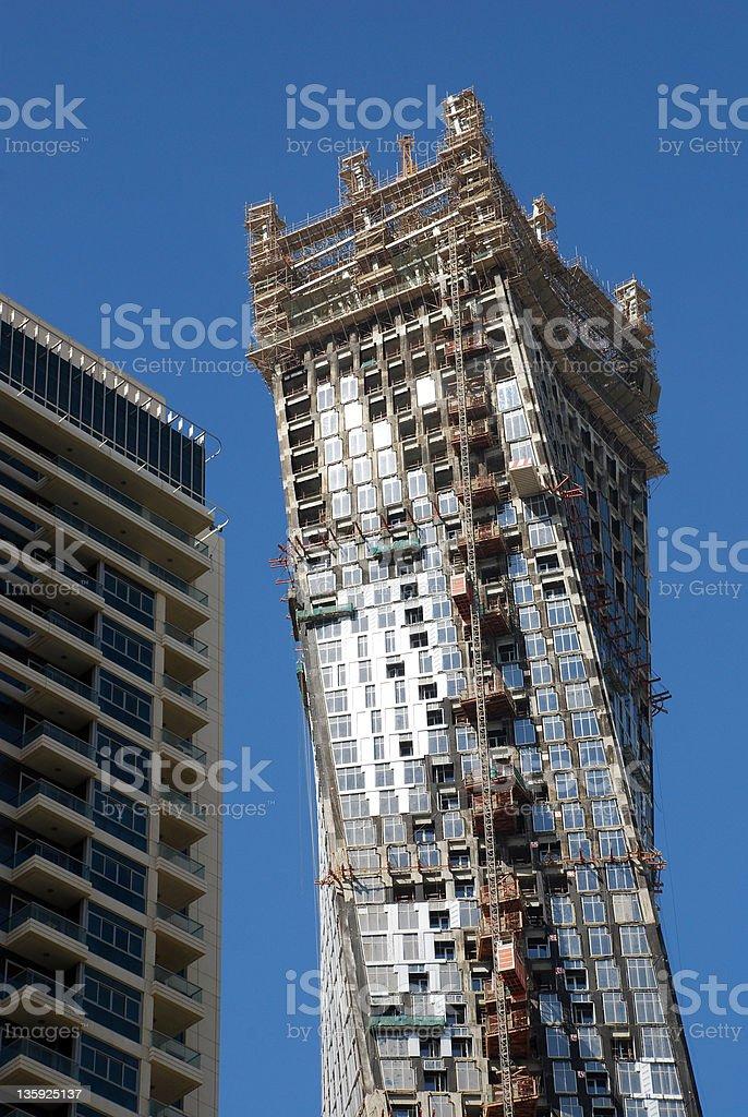 Scyscraper construction royalty-free stock photo