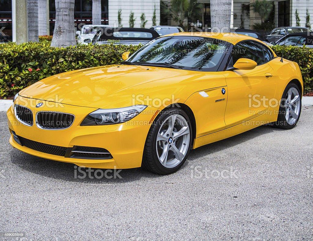 BMW Z4 sDrive28i royalty-free stock photo