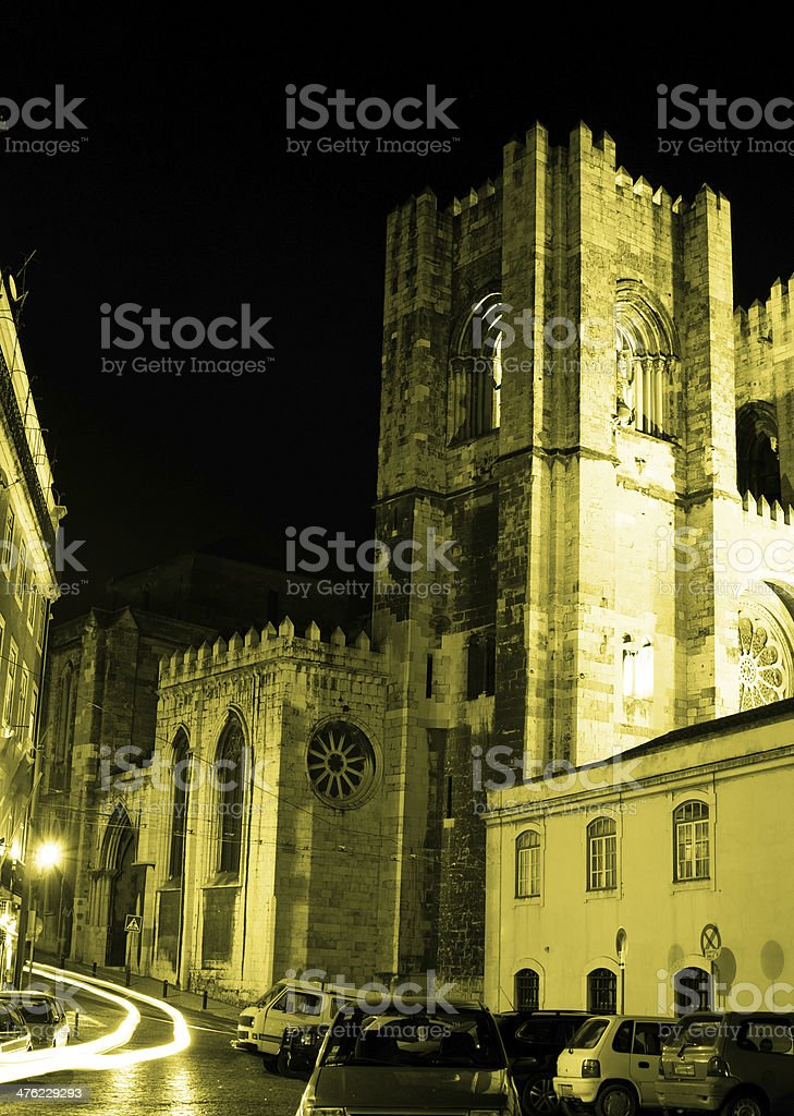 Se Cathedral, Lisbon - Portugal royalty-free stock photo
