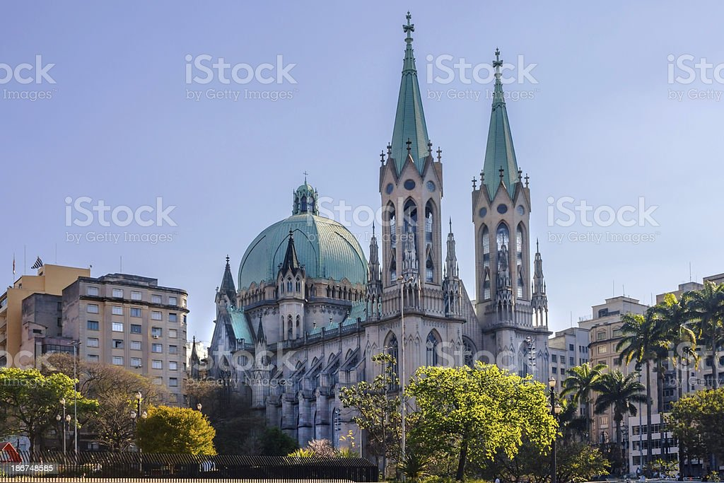 Se Cathedral. royalty-free stock photo