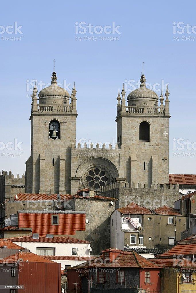 Se Cathedral Porto royalty-free stock photo
