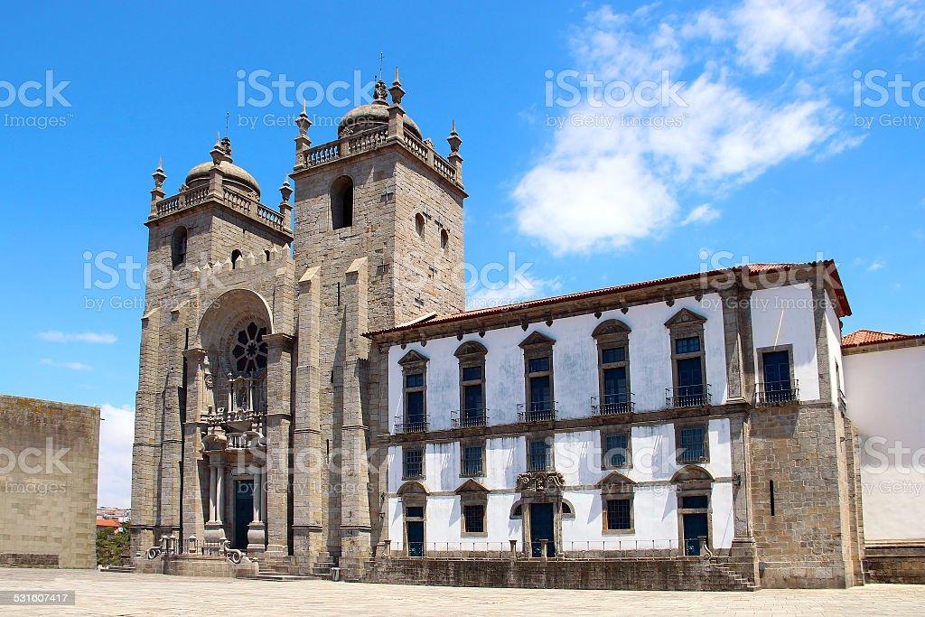 Se do Porto, Portugal stock photo