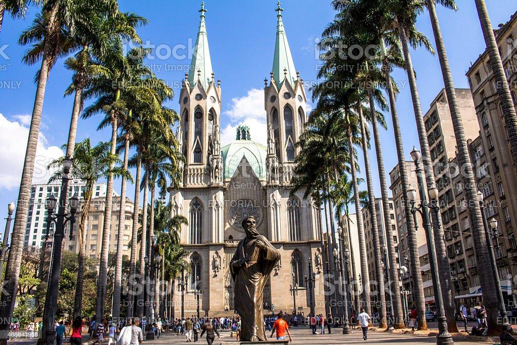 Se Metropolitan Cathedral stock photo