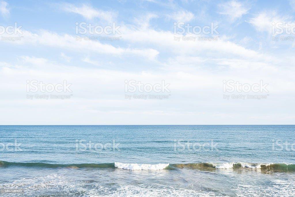 Sea Abstract royalty-free stock photo