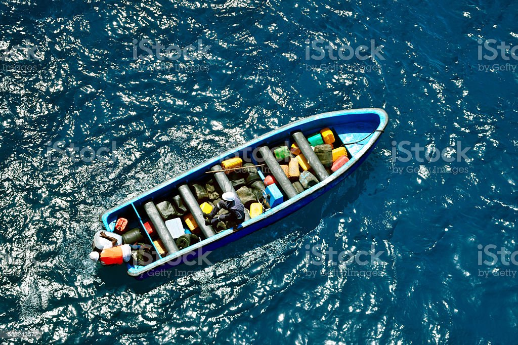 Sea adventure stock photo