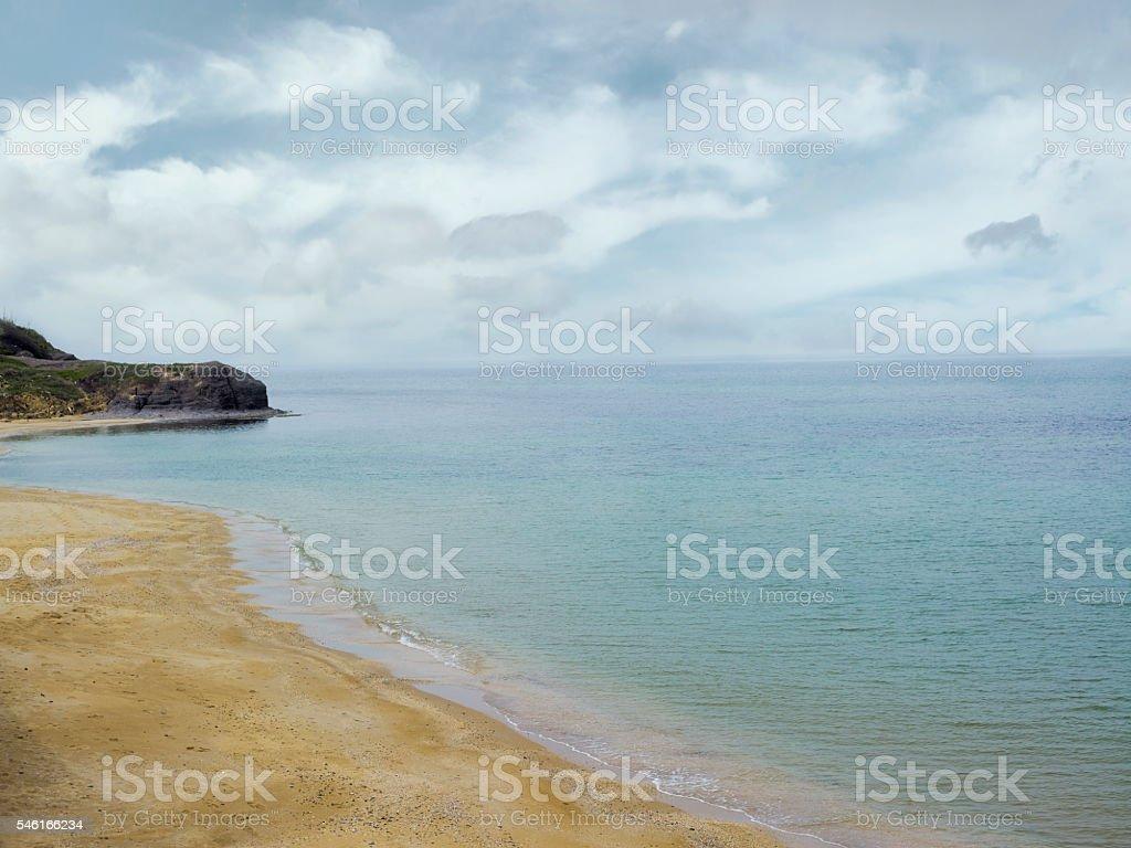 sea and beach stock photo