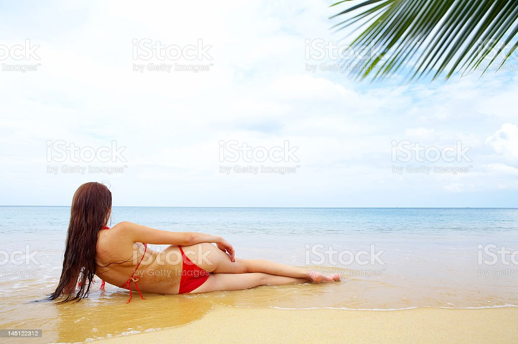 sea and bliss royalty-free stock photo