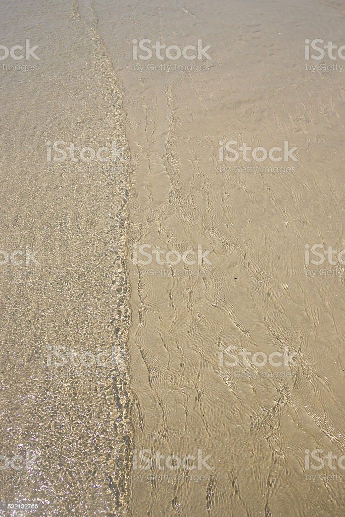 Sea and sand. stock photo