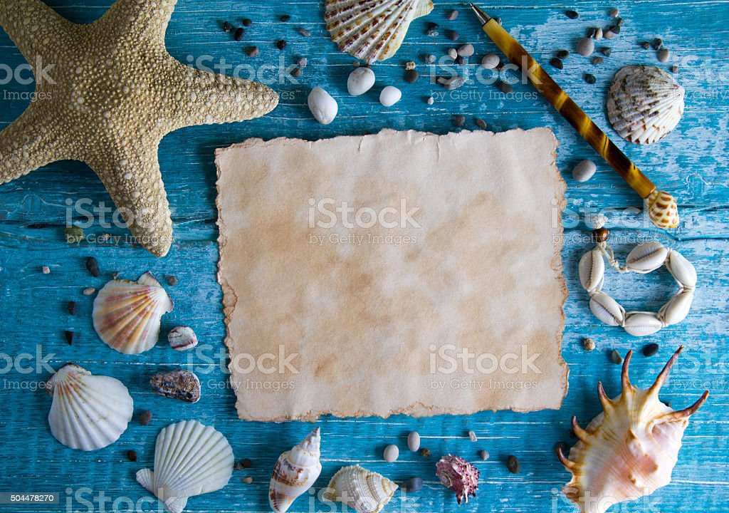 Sea background stock photo