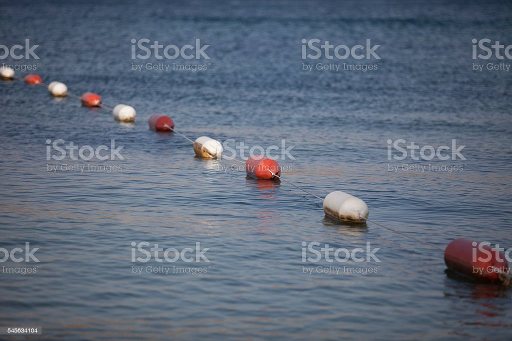 Sea Buoy stock photo